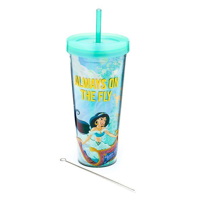 Disney Store Gobelet avec paille Jasmine, Aladdin