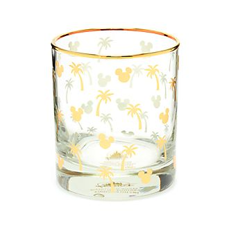 Disney Parks Mickey Mouse Tropical Glass