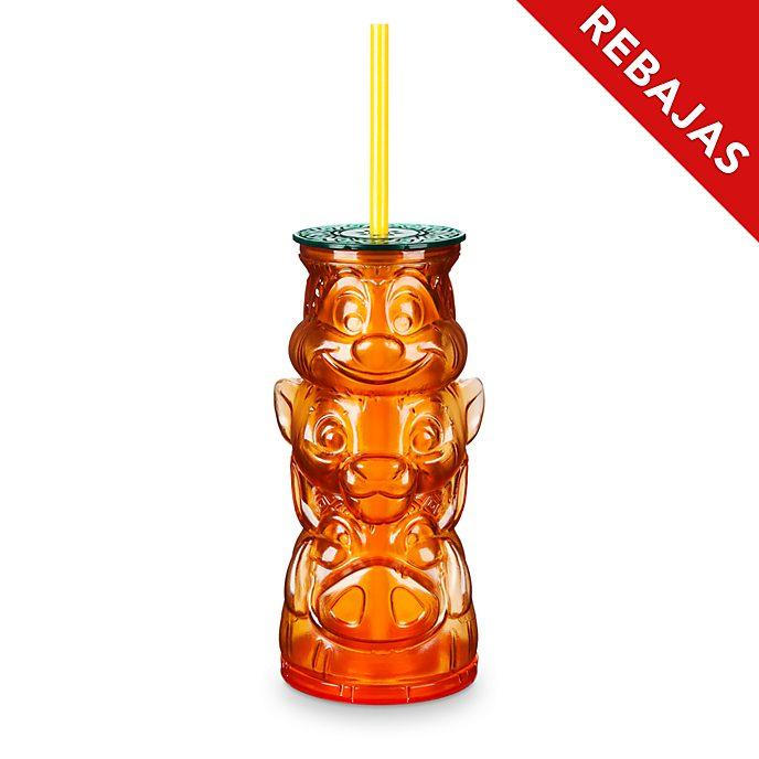 Vaso con pajita El Rey León, Disney Store