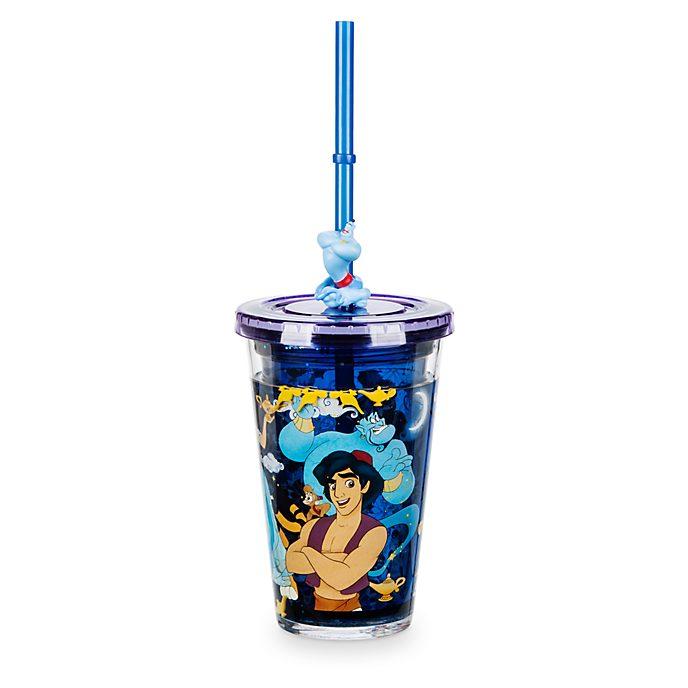 Disney Store - Aladdin - Strohhalm-Becher