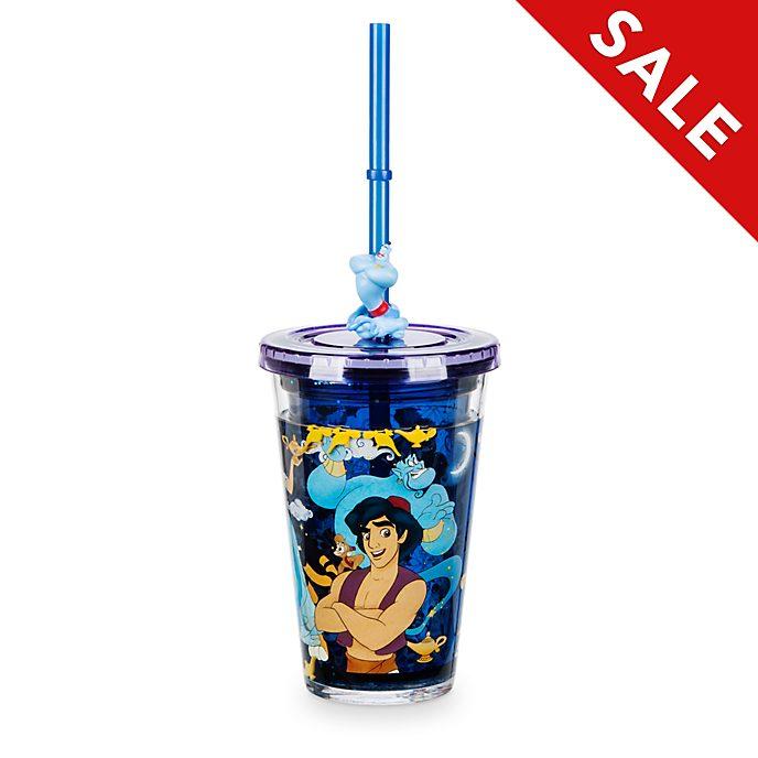 Disney Store Aladdin Straw Tumbler