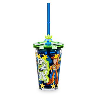 Disney Store Gobelet avec paille Toy Story