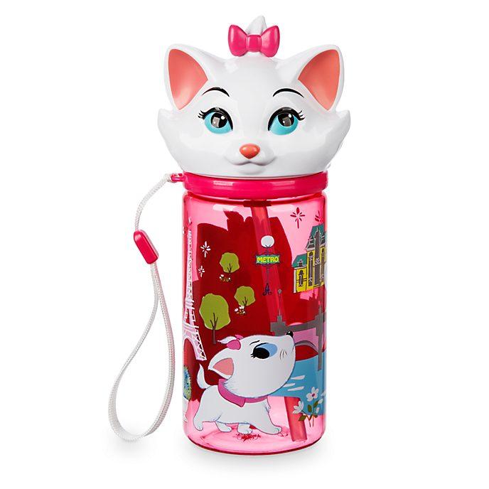 Disney Store - Furrytale Friends - Marie - Wasserflasche mit Klappkappe
