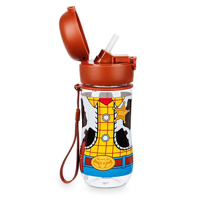Disney Store Woody Flip Top Water Bottle
