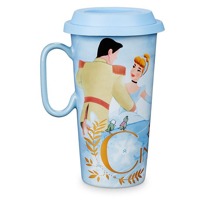 Disney Store Cinderella Travel Mug