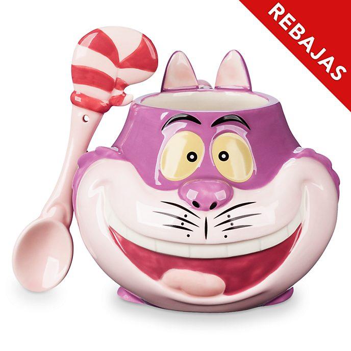 Taza y cuchara Gato Cheshire, Disney Store