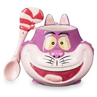 Disney Store Mug et cuillère Chat du Cheshire
