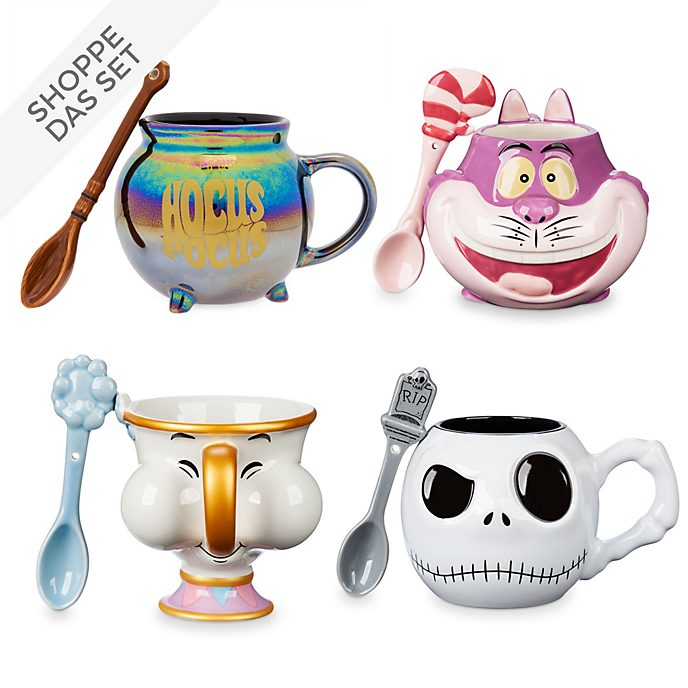 Disney Store - Mug and Spoon Collection