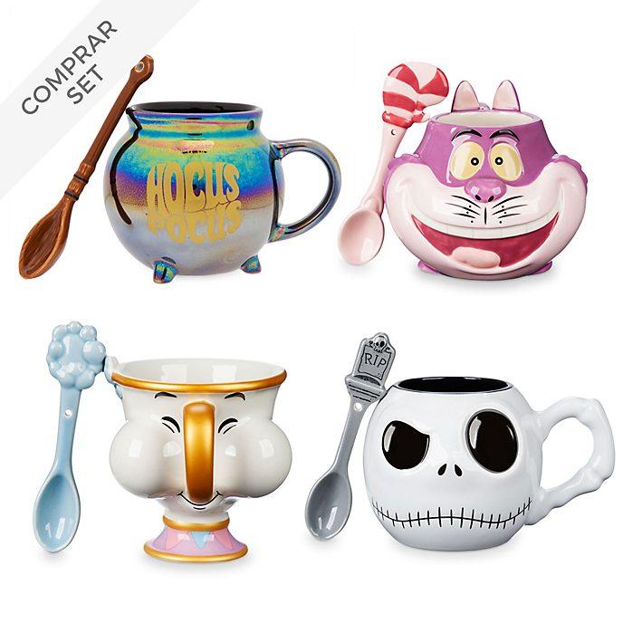 Colección de tazas y cucharas, Disney Store