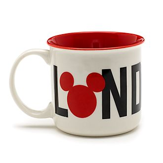 Taza Londres Mickey Mouse, Disney Store