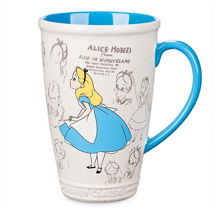 Disney Store Mug animé Alice au Pays des Merveilles