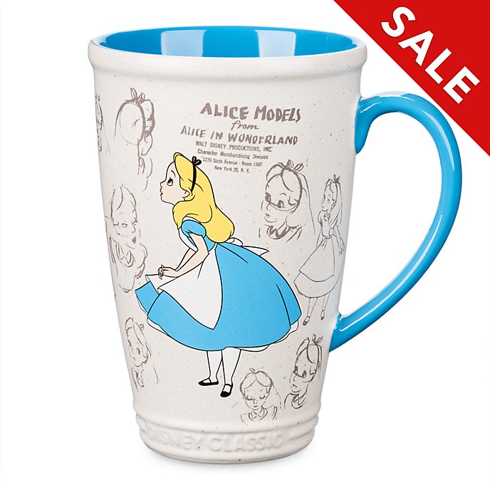 Disney Store Alice in Wonderland Animated Mug