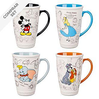 Colección de tazas animadas, Disney Store