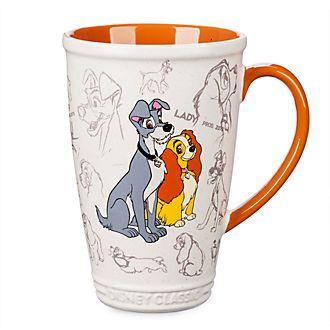 Disney Store - Susi und Strolch - Animierter Becher