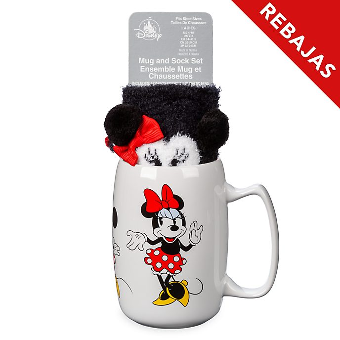 Set taza y calcetines Minnie Mouse, Disney Store