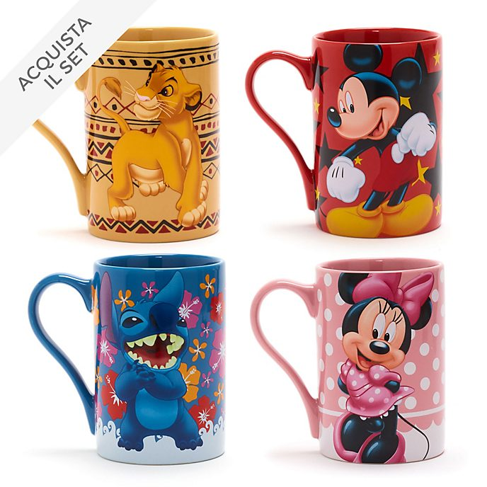 Collezione tazze classiche Disney Store