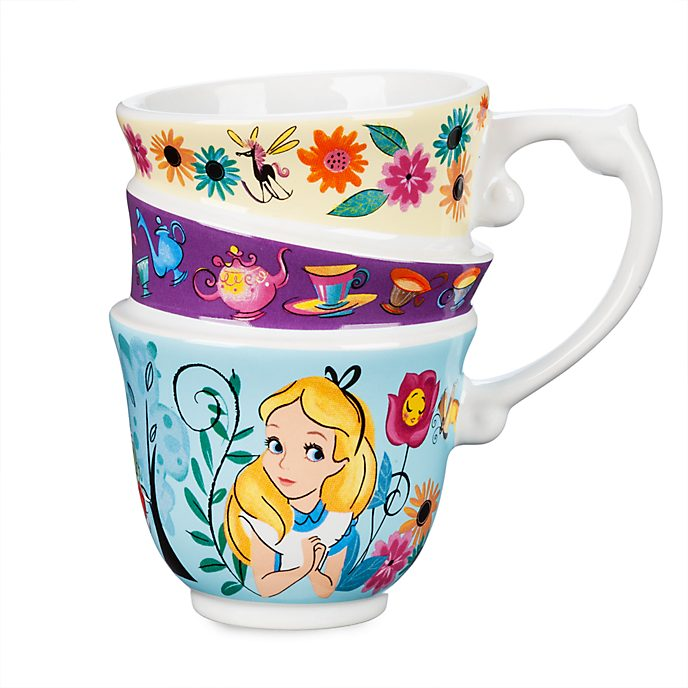 Disney Store Alice in Wonderland Stacked Mug