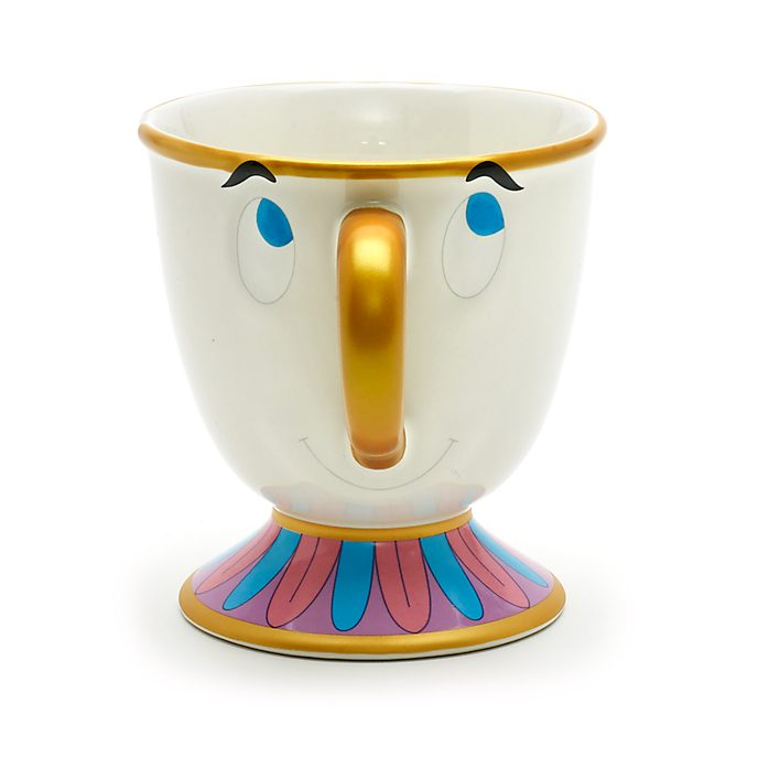 Disney Store Chip Character Mug, Beauty and the Beast