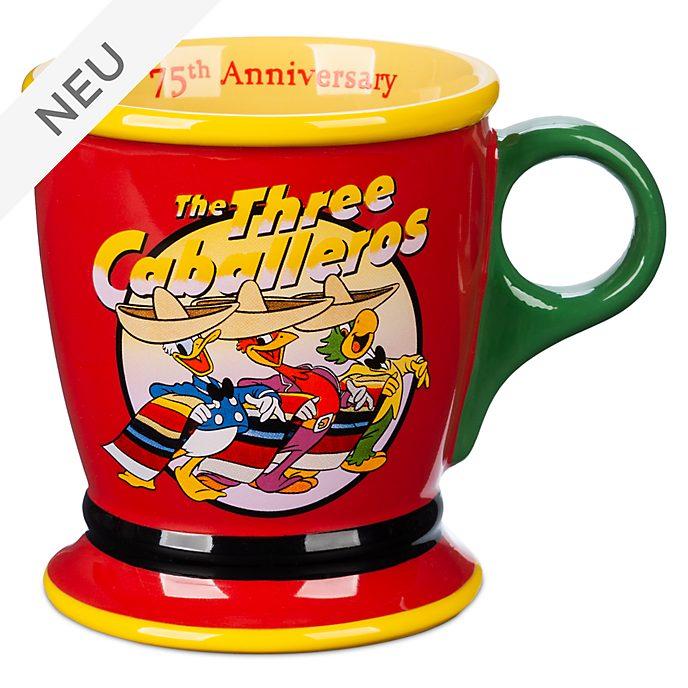 Disney Store - Drei Caballeros - Becher zum 75.Geburtstag