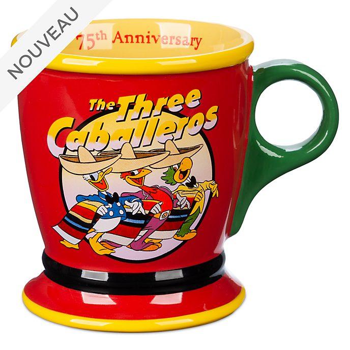 Disney Store Mug75e anniversaire Les Trois Caballeros