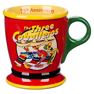 Disney Store The Three Caballeros 75th Anniversary Mug