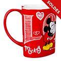 Disney Store Mug Mickey et Minnie en forme de coeur