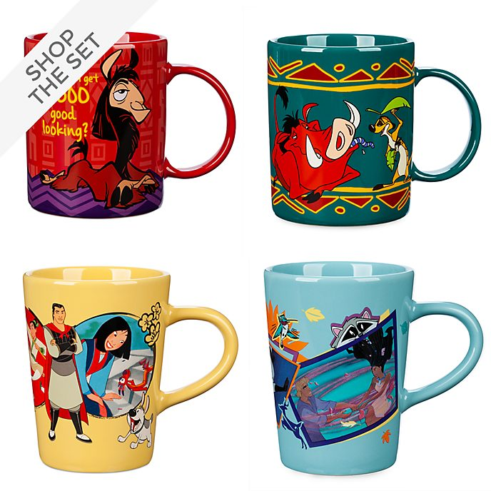 Disney Store 90s Mug Collection