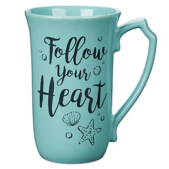 Disney Store The Little Mermaid Latte Mug