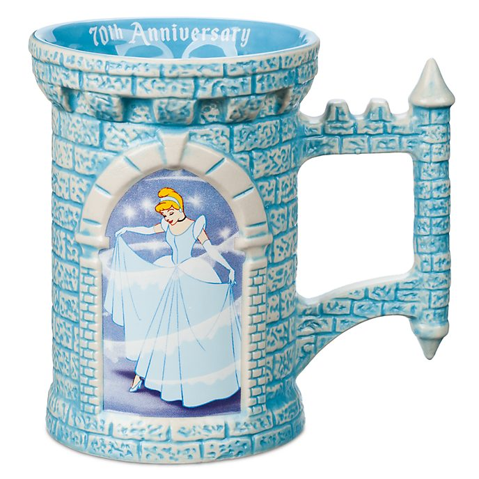 Disney Store Cinderella 70th Anniversary Mug
