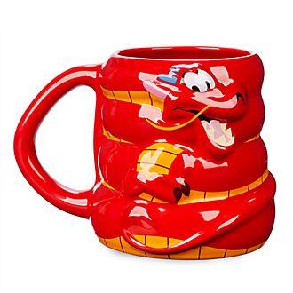 Taza con forma Mushu, Mulán, Disney Store
