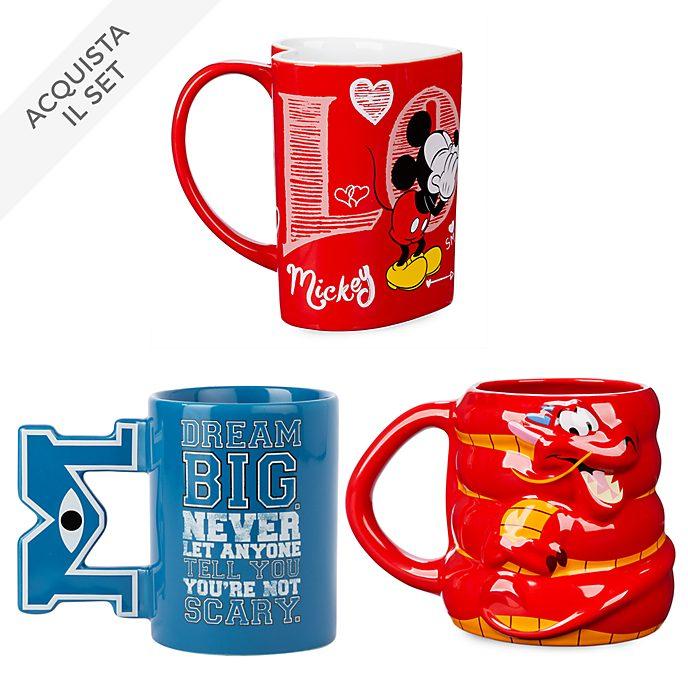Collezione tazze personaggio Disney Store