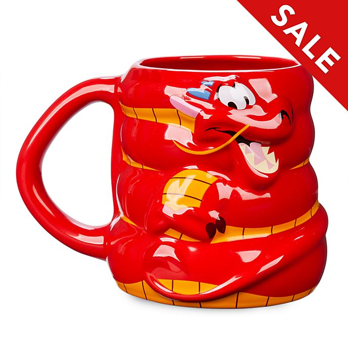 Disney Store Mushu Figural Mug, Mulan