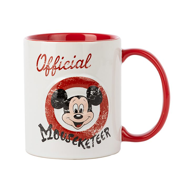 "Disney Store Mug Mickey ""Official Mouseketeer"""