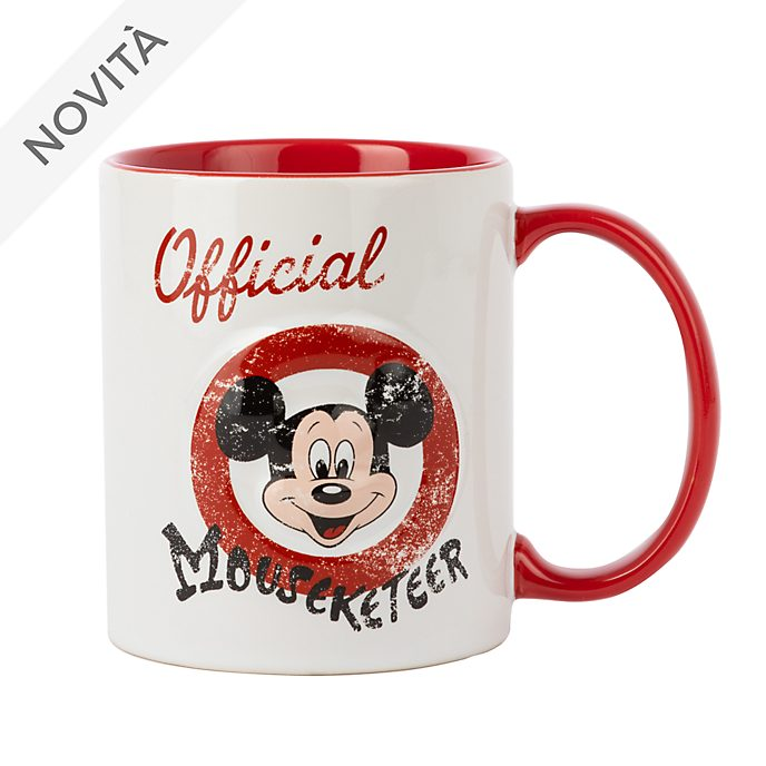 Tazza Official Mouseketeer Topolino Disney Store