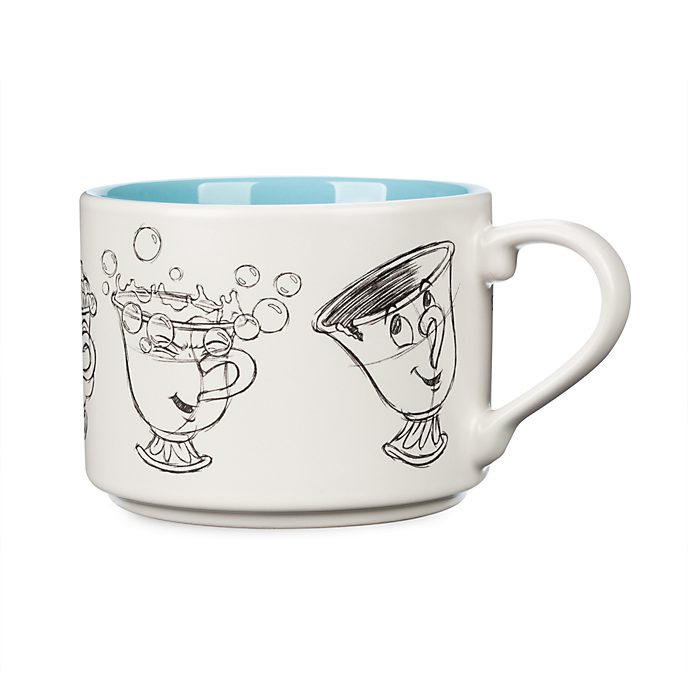 Disney Store Chip Stackable Mug, Beauty and the Beast