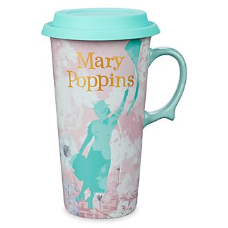 Disney Store Mary Poppins Travel Mug