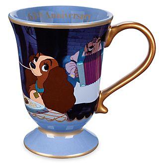 Tazza 65° anniversario Lilli e il Vagabondo Disney Store