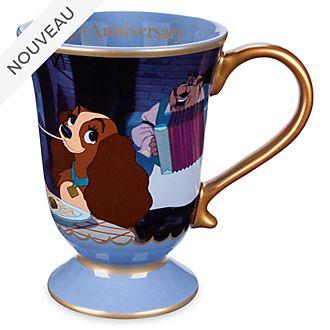 Disney Store Mug 65eanniversaire de La Belle et le Clochard