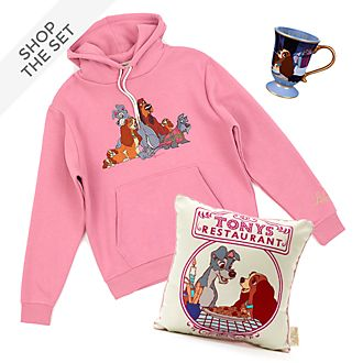 Disney Store Lady and the Tramp Collection For Adults