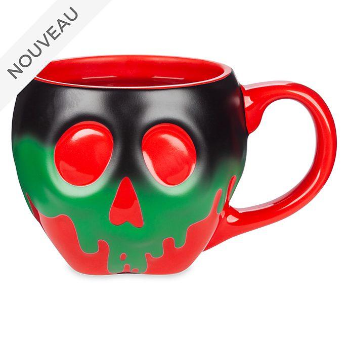 Disney Store Mug Pomme empoisonnée à couleur changeante