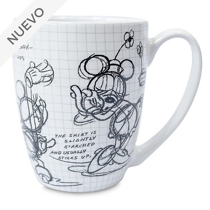 Taza animada Minnie Mouse, Disney Store