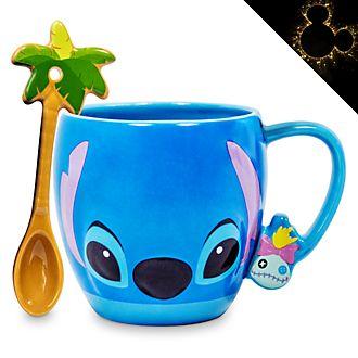 Disney Store - Stitch - Becher und Löffel