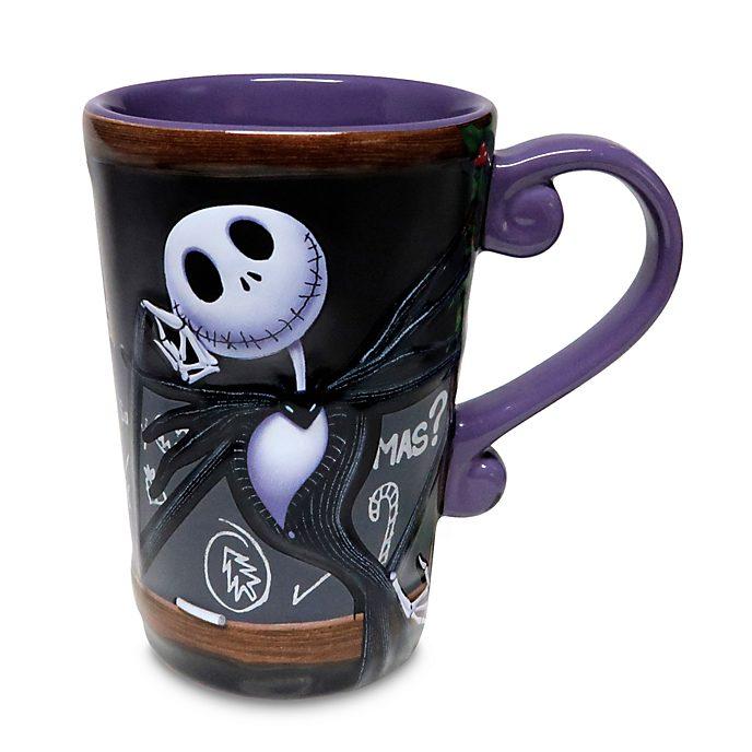 Disney Store Jack Skellington Heat Changing Mug