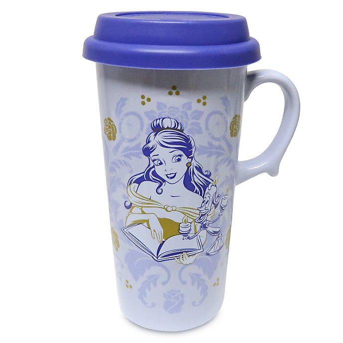 Disney Store Beauty and the Beast Travel Mug