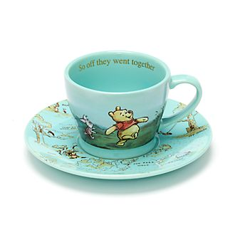 Disney Store Tasse à thé et soucoupe Winnie l'Ourson