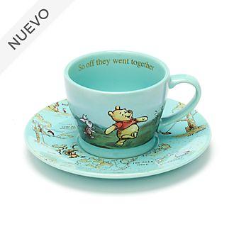 Taza de té y platillo Winnie the Pooh, Disney Store