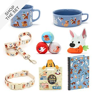 Disney Store Disney Dogs Stationery and Accessories Collection For Adults