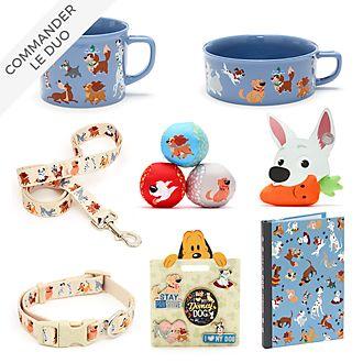 Disney Store Collection d'articles de bureau et accessoires Disney Dogs pour adultes