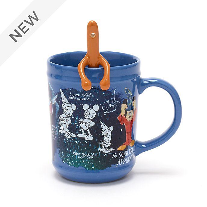 Disney Store Fantasia 80th Anniversary Mug and Spoon