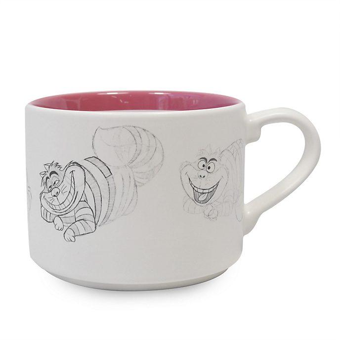 Disney Store Mug empilable Chat du Cheshire, Alice au Pays des Merveilles